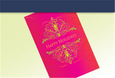 personalized 5x7 holiday cards with your custom greeting