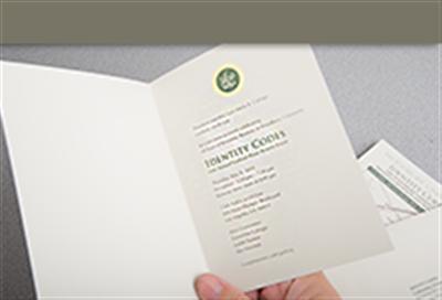 invitation cards folded printing los angeles