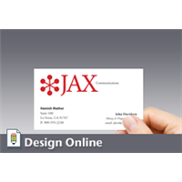 Business Card, Horizontal, with Logo