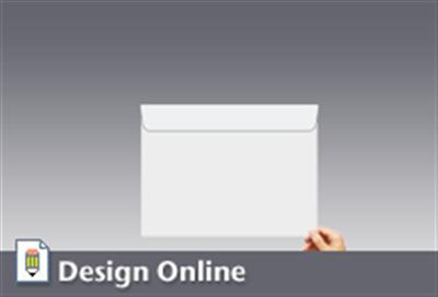 Booklet Envelope Printing Back Flap X Los Angeles - 9x12 envelope printing template