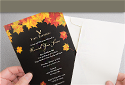 printed announcement cards